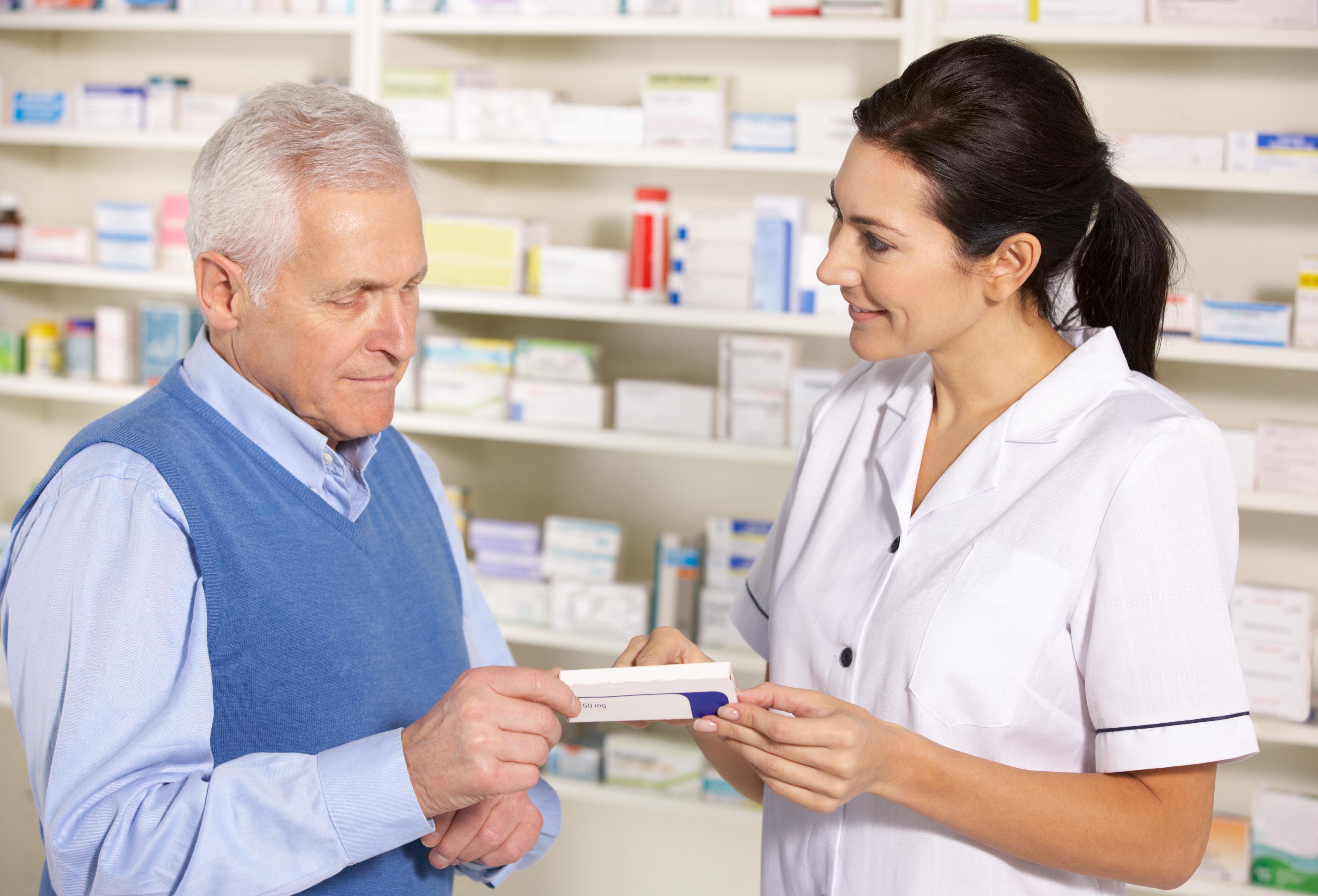 Quando è il farmacista che ti ricorda di prendere le medicine