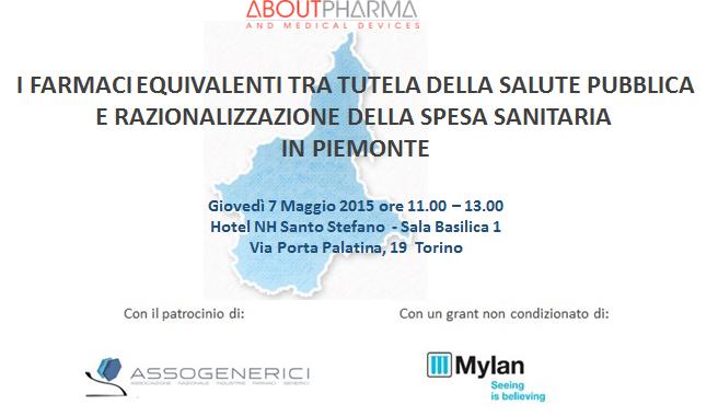 I farmaci equivalenti tra tutela della salute pubblica e razionalizzazione della spesa sanitaria in Piemonte