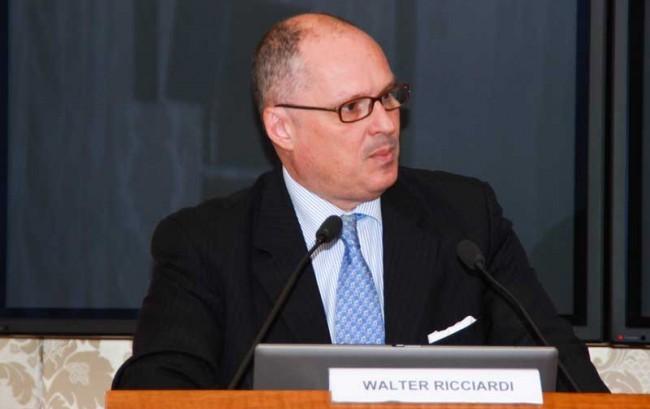 Walter Ricciardi è il nuovo direttore scientifico dell'Ics Maugeri