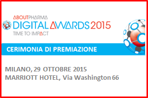 AboutPharma Digital Awards 2015 Cerimonia di Premiazione