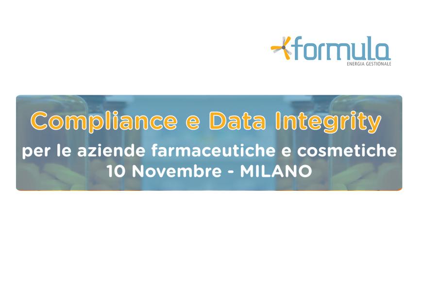 Compliance e Data Integrity per le aziende farmaceutiche e cosmetiche
