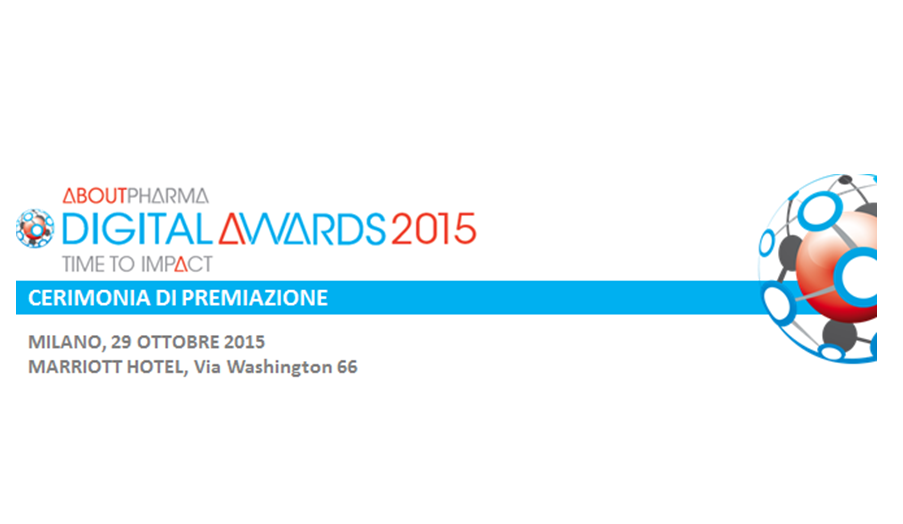 ABOUTPHARMA DIGITAL AWARDS 2015<br> CERIMONIA DI PREMIAZIONE
