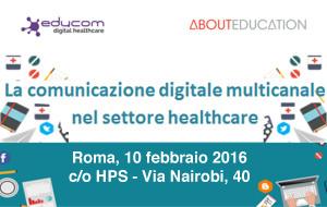 La comunicazione digitale multicanale nel settore healthcare