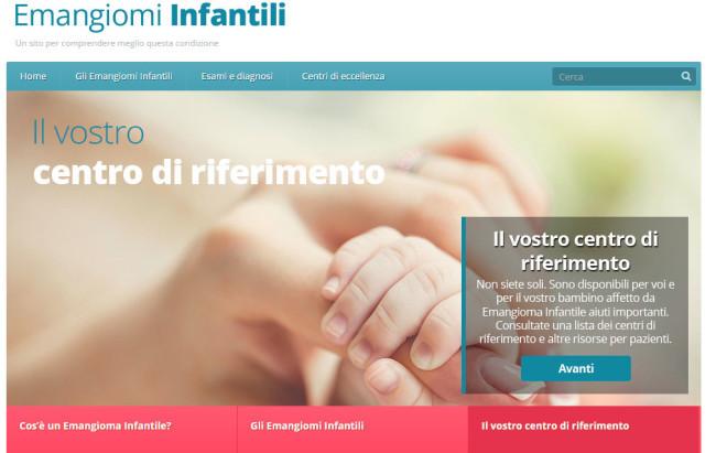 Emangiomi infantili, online il portale con tutte le informazioni sulla malattia
