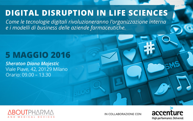 DIGITAL DISRUPTION IN LIFE SCIENCES