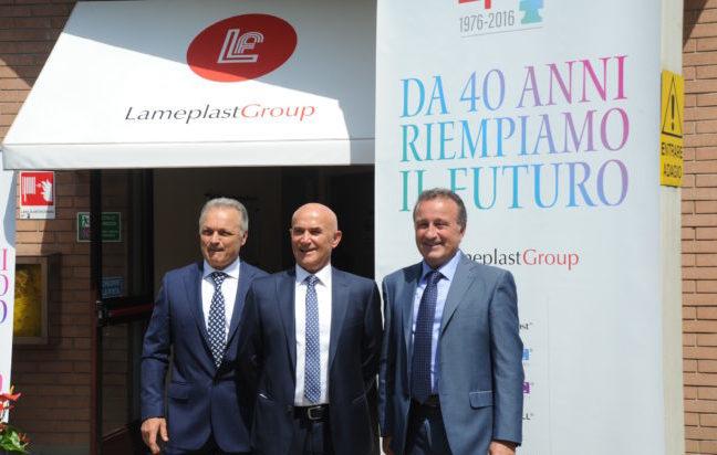 Lameplast Group festeggia quarant'anni, tra ricerca e innovazione