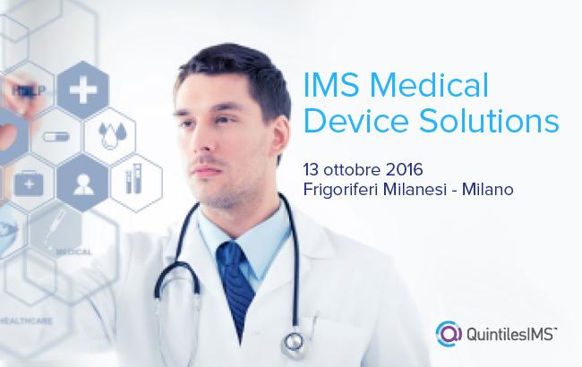 IMS Medical Device Solutions: da oggi le informazioni supportano le decisioni