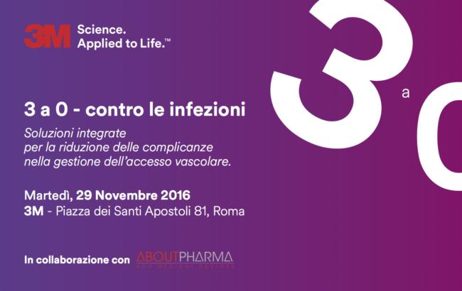3 a 0 – contro le infezioni<br>Soluzioni integrate per la riduzione delle complicanze nella gestione dell'accesso vascolare