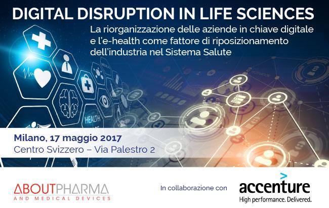 2nd Forum on Digital Disruption in Life Sciences La riorganizzazione delle aziende in chiave digitale e l'e-health come fattore di riposizionamento dell'industria nel Sistema Salute