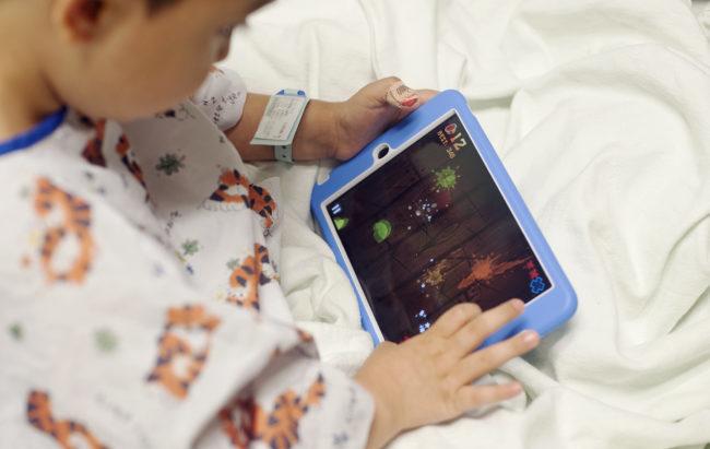 Il Li-Fi al servizio dei bambini ricoverati