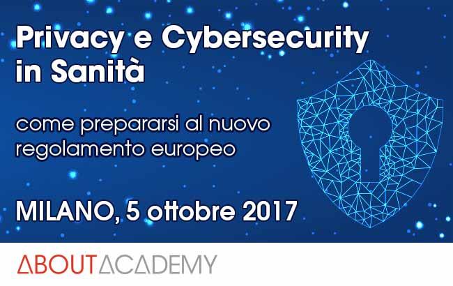 Cybersecurity e privacy in sanità