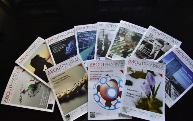 Un anno di AboutPharma: tutte le cover del 2017
