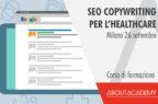 SEO copywriting per l'Healthcare