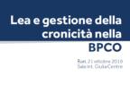 Nuovo Pdta per la Bpco in Puglia, un modello virtuoso di gestione della cronicità