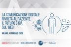 La comunicazione digitale rivolta al paziente. Il futuro è già sul web