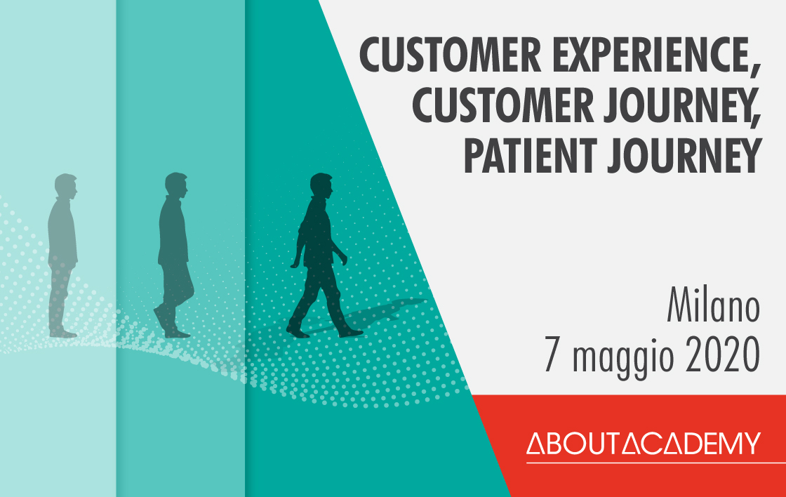 Customer experience, customer journey, patient journey.