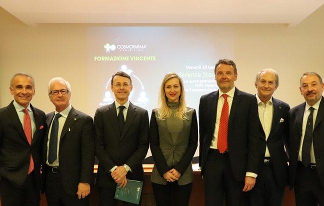 Cosmofarma 2020: nasce l'intesa con Fofi, Federfarma, Fondazione Cannavò e Utifar