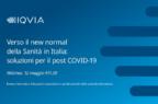 Verso una nuova normalità della sanità in Italia, se ne parlerà in un webinar il 12 maggio
