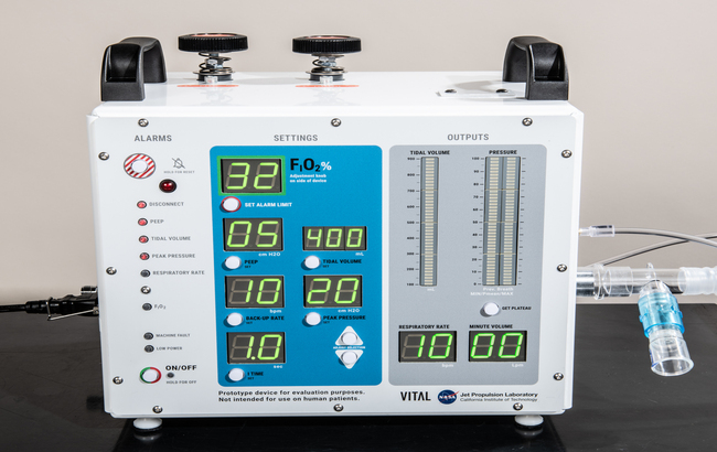 Covid-19, Fda approva ventilatore polmonare progettato dalla Nasa