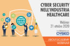 Cyber security nell'industria healthcare fra tecnologie e fattore umano