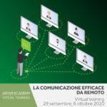 Virtual training La comunicazione efficace da remoto
