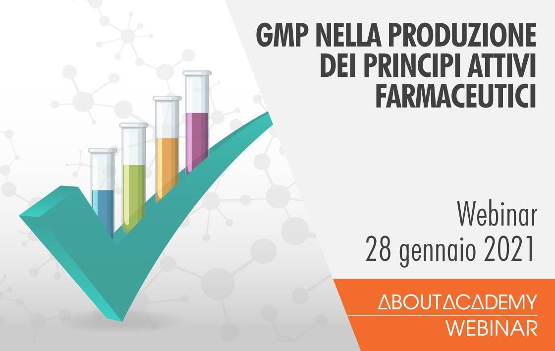 Good Manufacturing Practices nella produzione dei principi attivi farmaceutici
