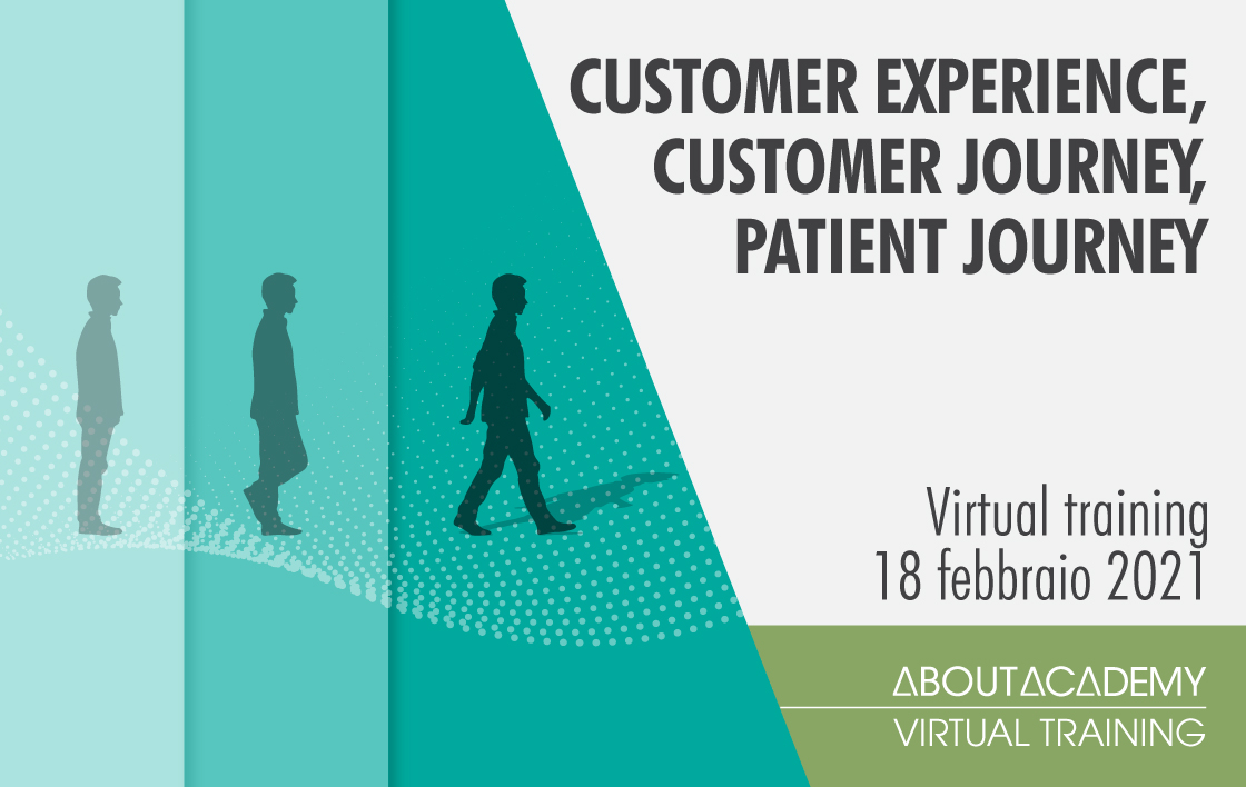 Customer experience, customer journey, patient journey