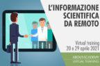 L'informazione scientifica da remoto: aspetti psicologici, organizzazione e strategie