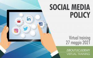 corso in social media policy per healthcare